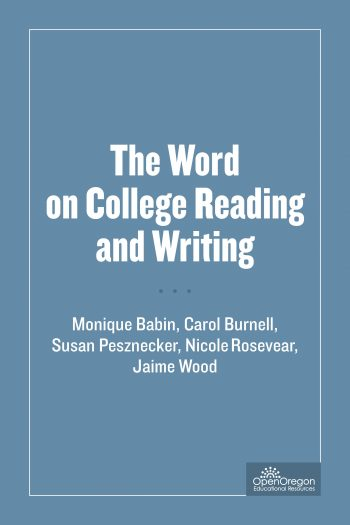 Word on College Reading and Writing