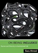 Book cover - On being included