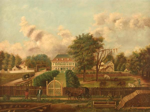 Plantation scene (Ogden Museum of Southern Art)