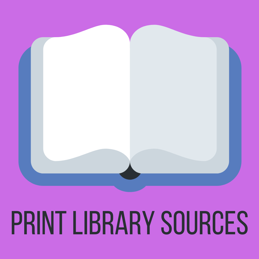 Print Library Sources