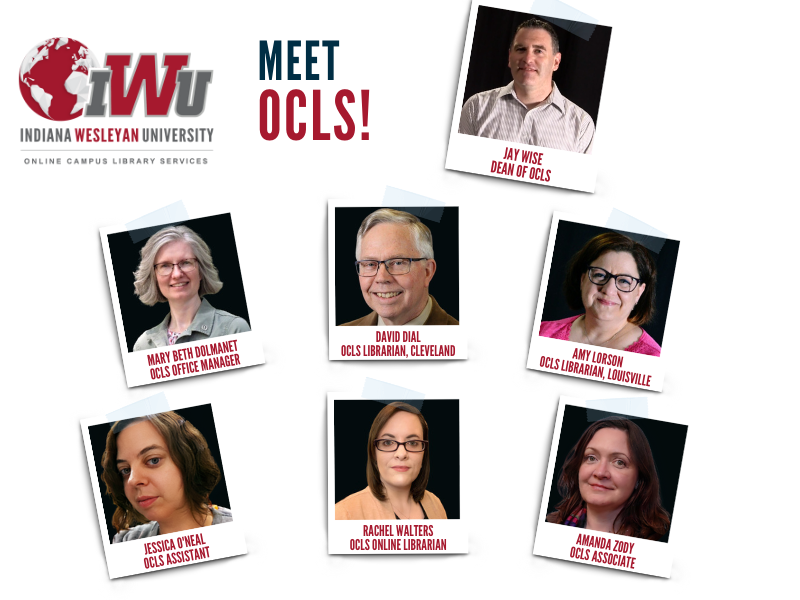 Meet OCLS! Photos of the OCLS team.