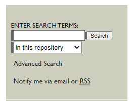 search bar from scholar works