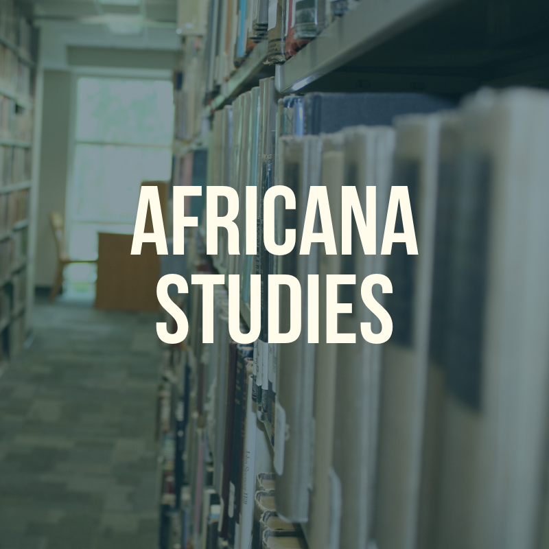 Africana Studies label for this guide.