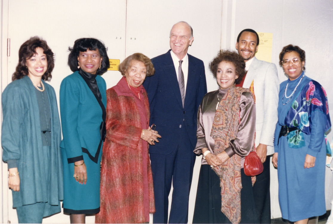 CSUDH Young, Gifted, and Black event, 1989.