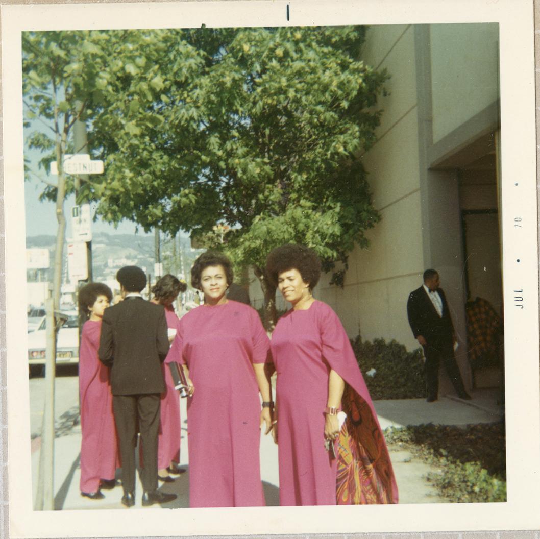 Virginia White and Jacqueline Sebastian, San Francsico, 1970.