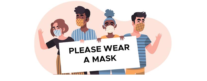 mask please
