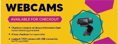 Webcam for Checkout