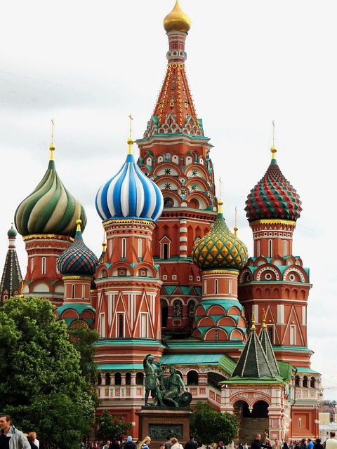 Picture of St. Basil's Cathedral, Moscow