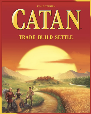 Catan board game cover