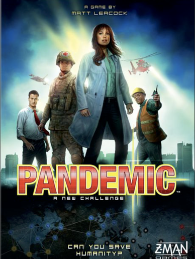 Pandemic board game cover