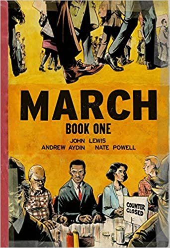 Cover of the Book March, Book 1