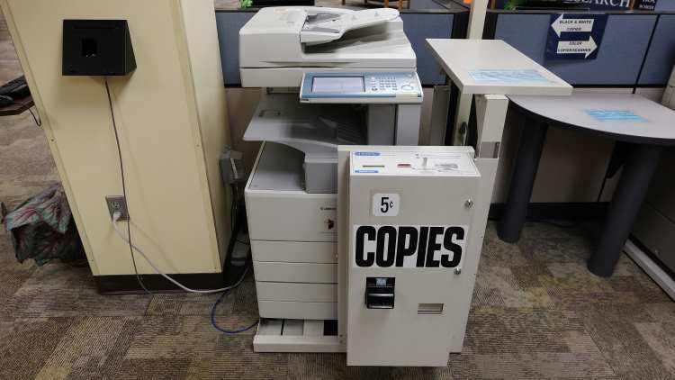 black and white copier