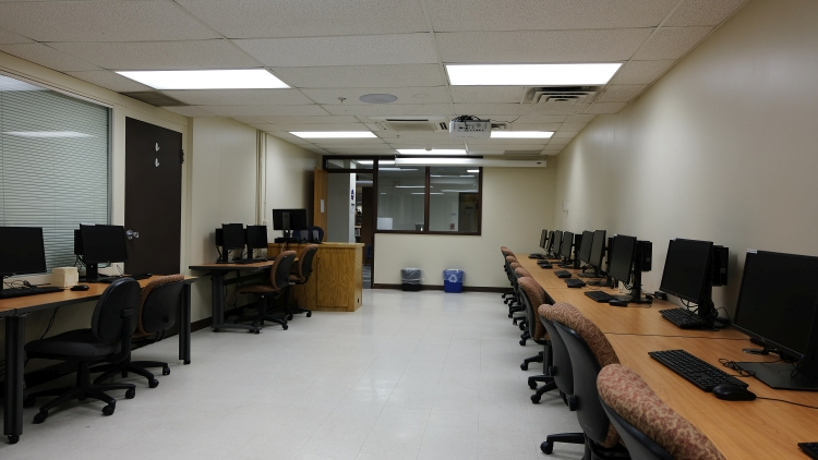 West Lower Level Lab