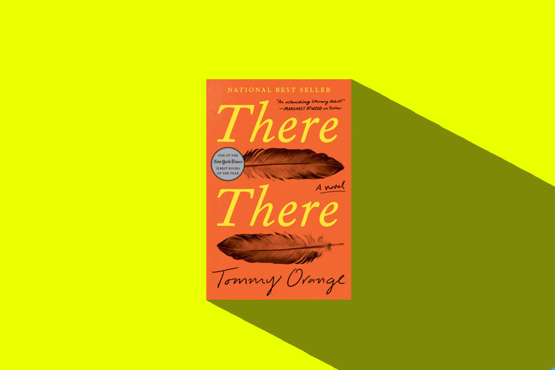 There, There  by Tommy Orange Book Cover