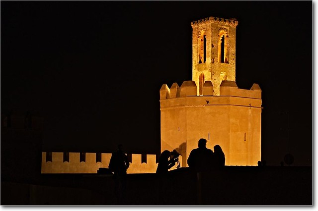 photo de la Torre de espantaperros de Badajoz by Enrique Ferrer via Flikr