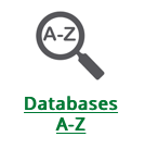 Databases A-Z logo from website