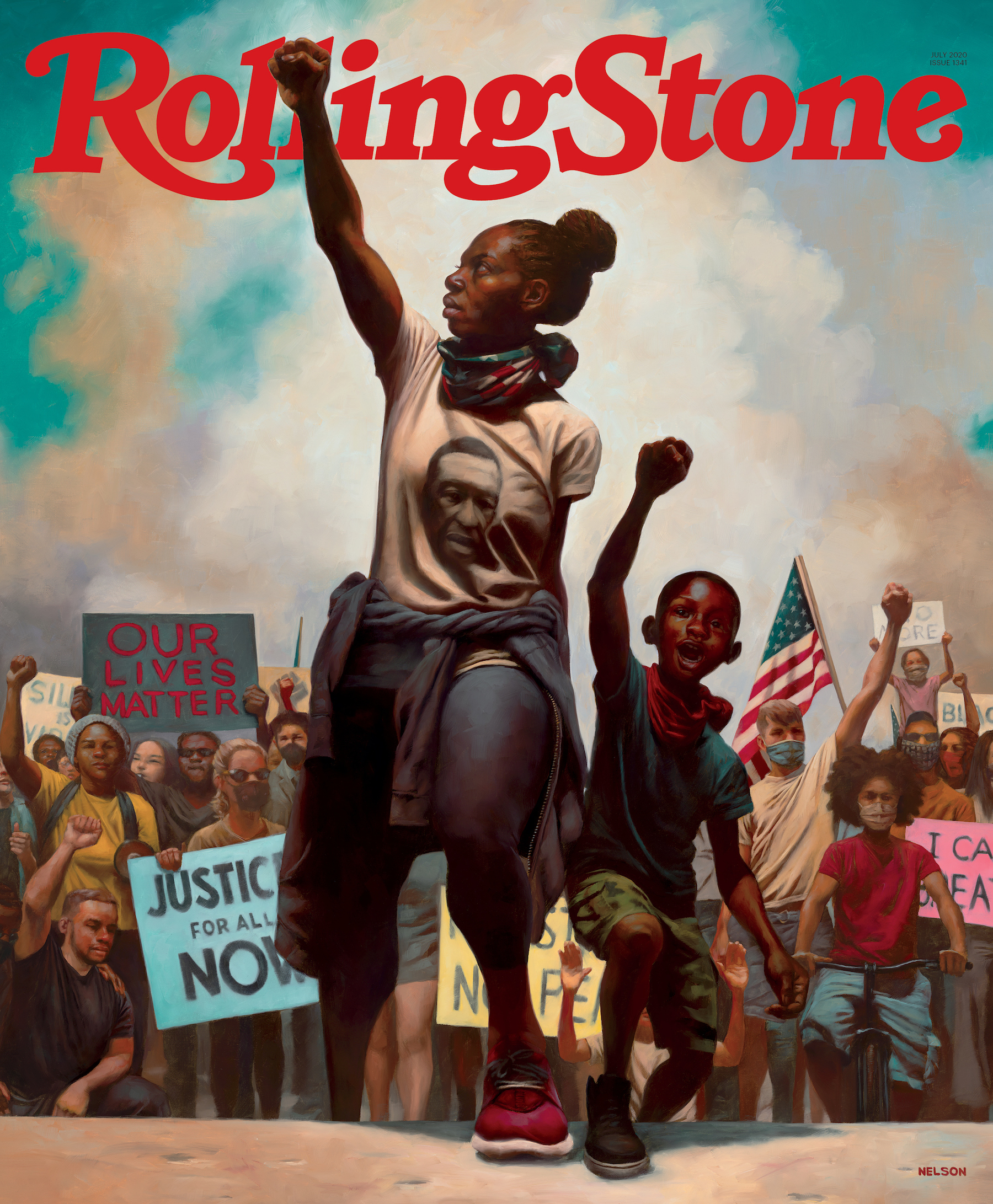"Rolling Stone Magazine, July 2020 | ""American Uprising"" Black Lives Matter"
