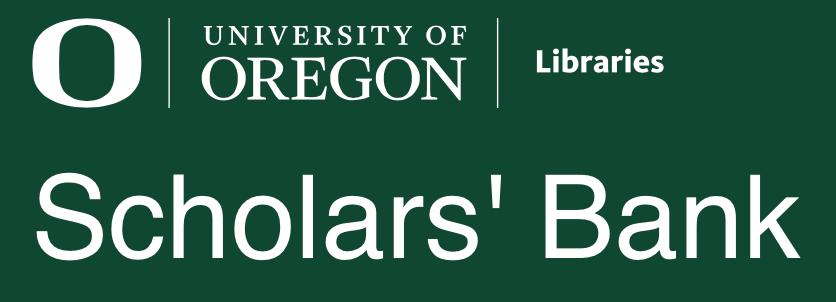 Scholars' Bank banner