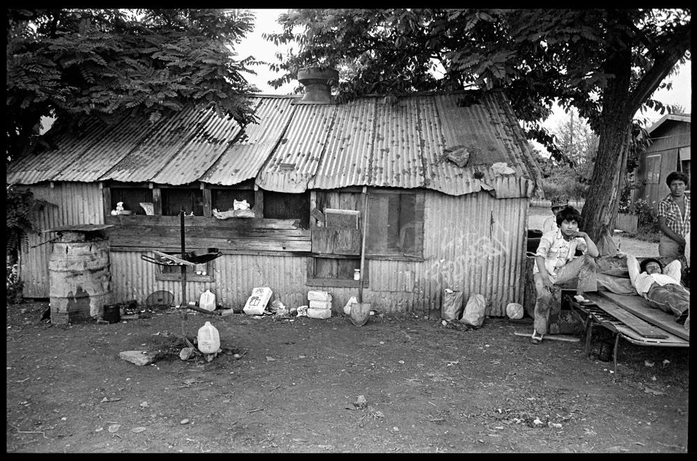 PCUN archival material: photograph of housing conditions