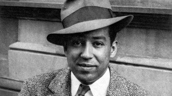 Photograph of Langston Hughes by Ole Fossgard with a CC BY-NC-SA license