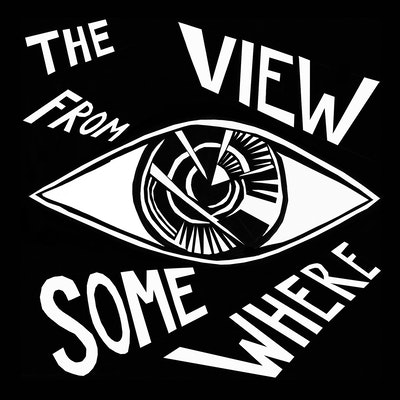 The View from Somewhere podcast logo