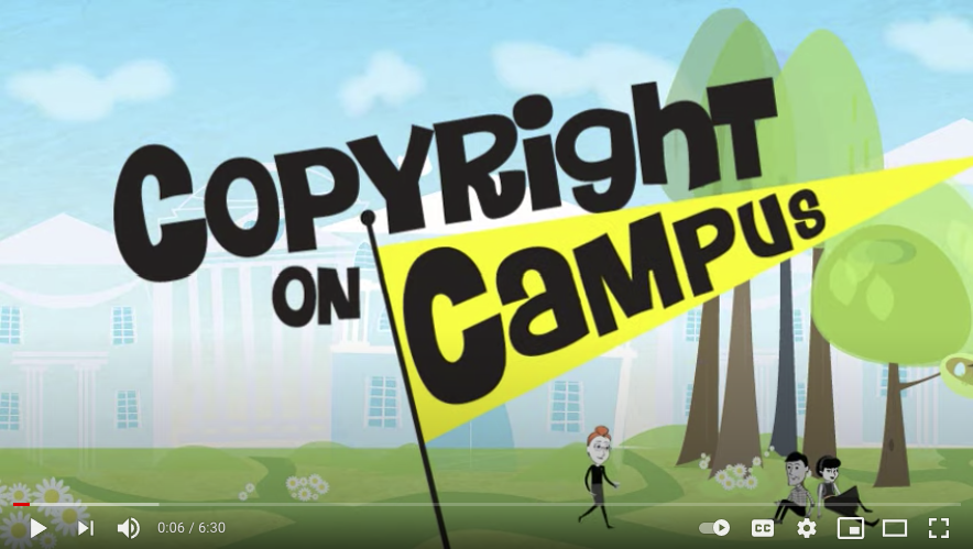 Copyright on Campus title image