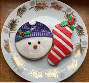 Online - Ho-Ho-Ho-Holiday Cookie Decorating Party with Chef Cindy