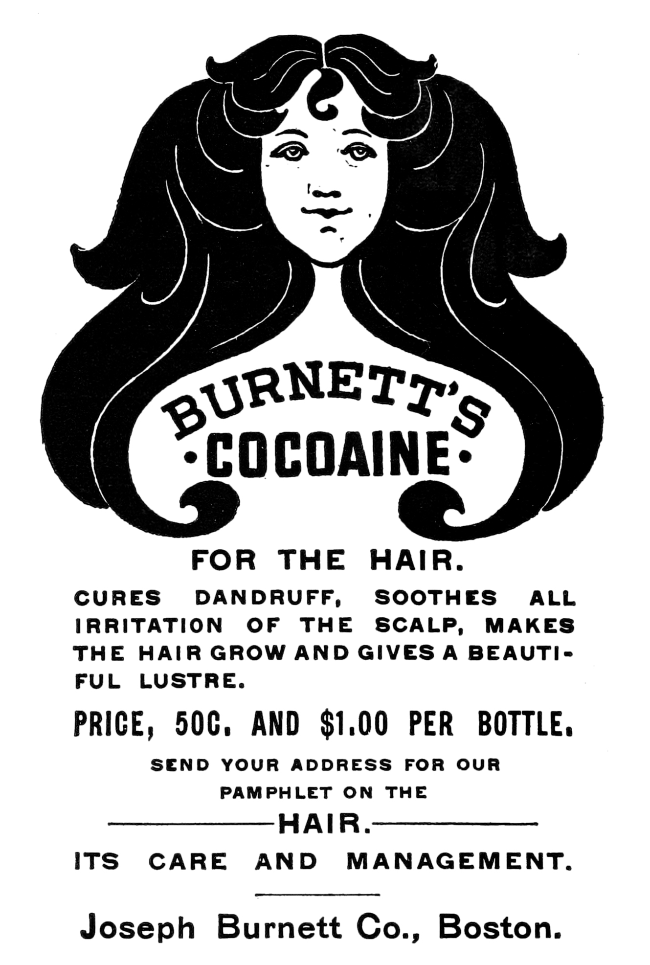 A 19th century advertisement for medicinal cocaine
