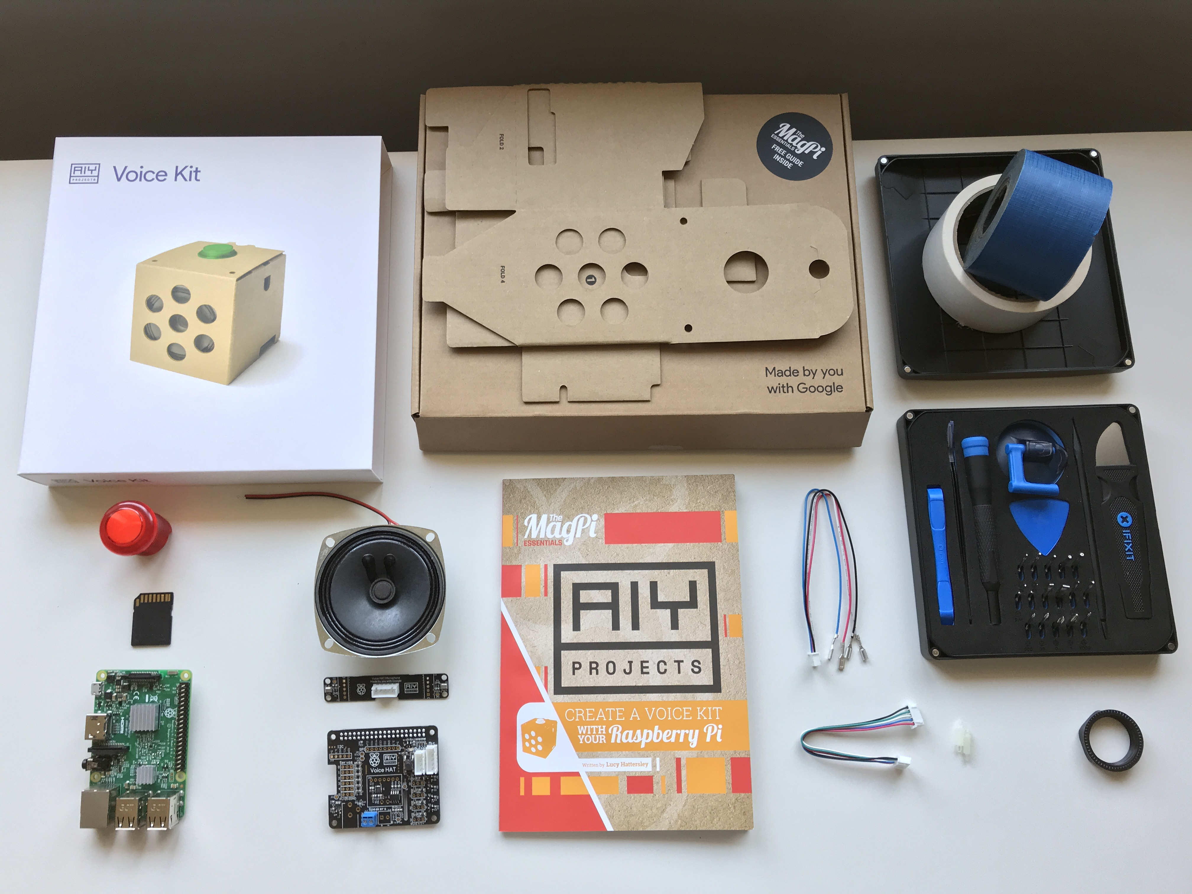AIY Voice Assistant Kit