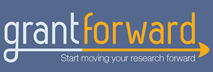 """Grant forward logo with text - """"start moving your research forward"""""""