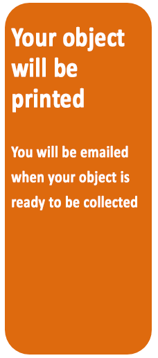 Your object will be printed.