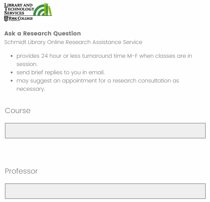 Click here to ask a research question by completing our email form.