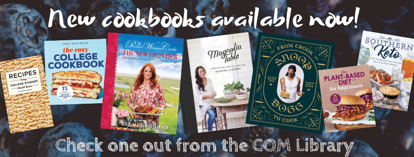 Get Cooking! New cookbooks available!