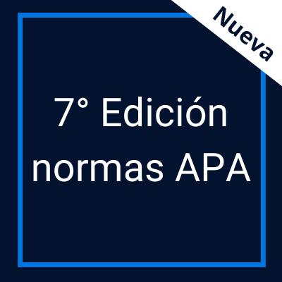 Guía temática normas APA 7