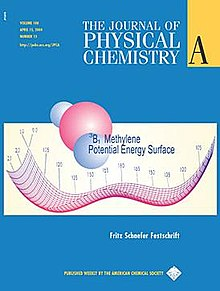 Journal Cover - Title in white lettering above a scientific diagram against a blue background.