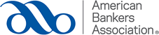Logo - Text in grey lettering to the right of a curved, dark blue line design.