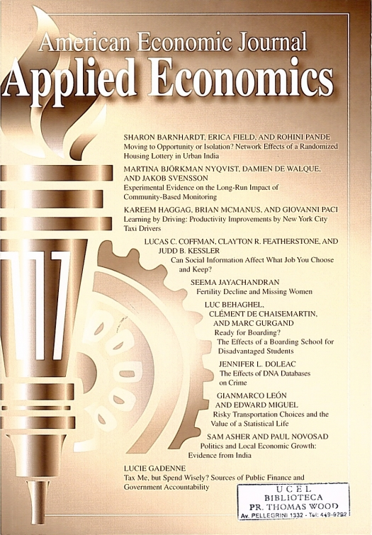 Journal Cover - Title in white lettering above a bronze image of a torch with a bronze gear behind it against a white-to-bronze gradient background.