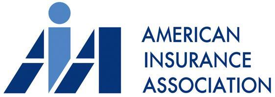 Logo - Text in dark blue lettering to the right of the letters AiA in bold blue lettering.