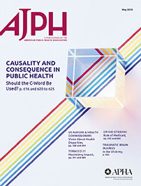 Journal Cover - Title in magenta lettering over an image of a glass square sitting atop several lines in rainbow colors against a white background.