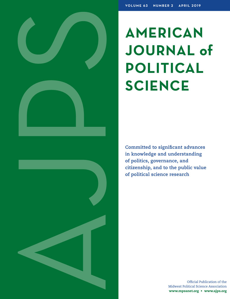 Journal Cover - Title in green lettering against a white background to the right of a thick, green, vertical banner containing the letters AJPS in light green lettering.