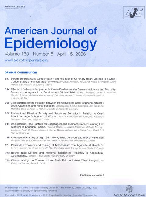 Journal Cover - Title in blue lettering in a light blue banner above rows of text against a white background.