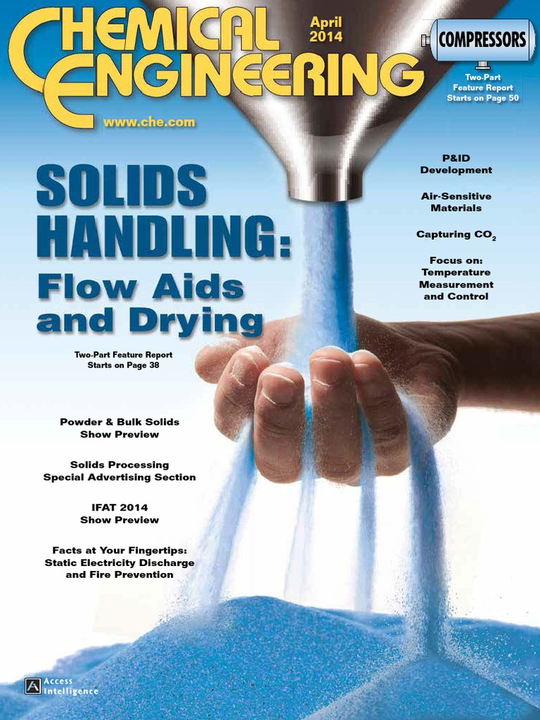Journal Cover - Title in yellow lettering over a photograph of a hand underneath a flow of blue sand coming out of a metal nozzle.