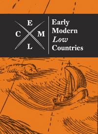 Journal Cover - Title in white lettering in a dark grey banner over an orange drawing of a ship at sea.