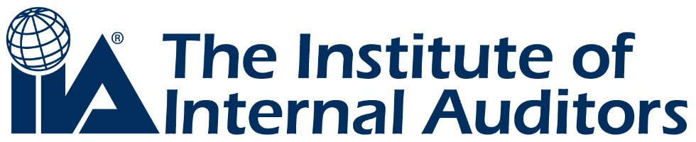 Logo - Text in dark blue lettering to the right of a globe above two dark blue i's and an triangular a.