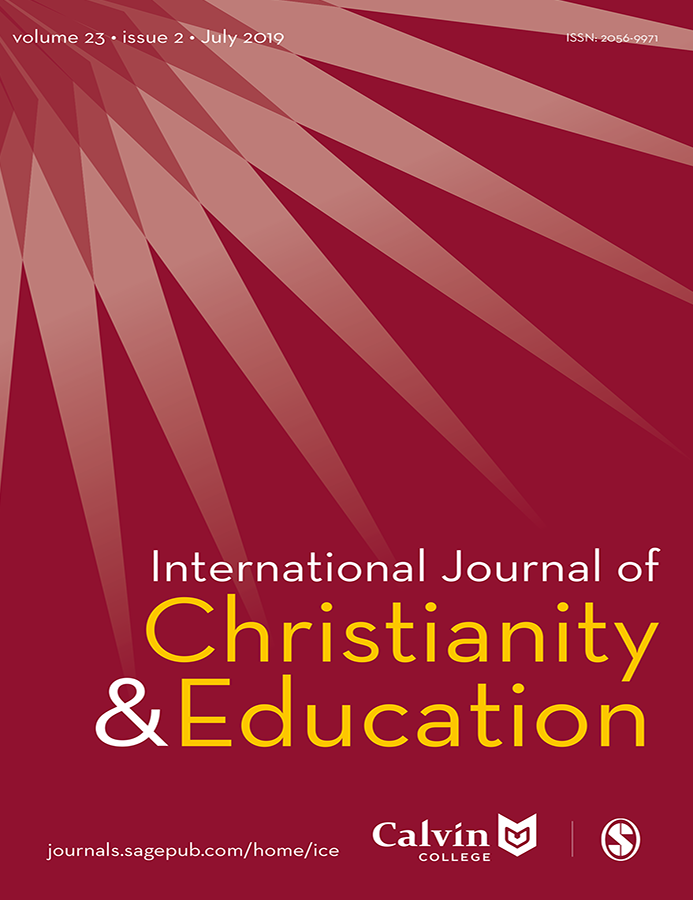 Journal Cover - Title in white and yellow lettering against a red background with an abstract sun design in the top left corner.