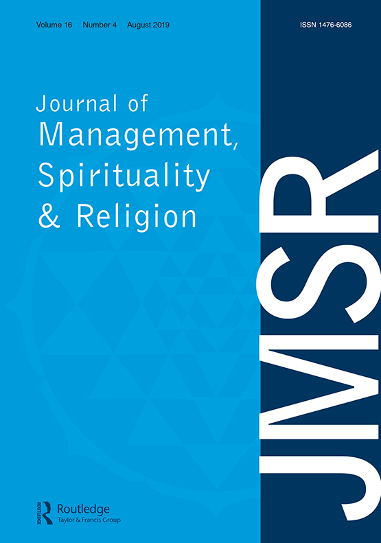 Journal Cover - Title in white lettering against a light blue background with a dark blue vertical banner on the right.