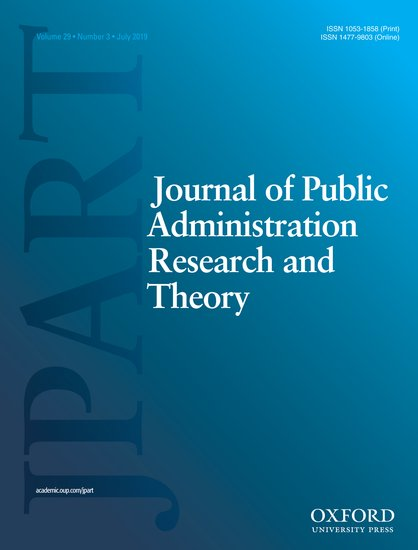 Journal Cover - Title in white lettering over a dark-to-light blue gradient background with the letters JPART on the left in large lettering.
