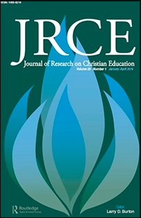 Journal Cover - Title in white lettering over blue flame shapes against a dark green background.