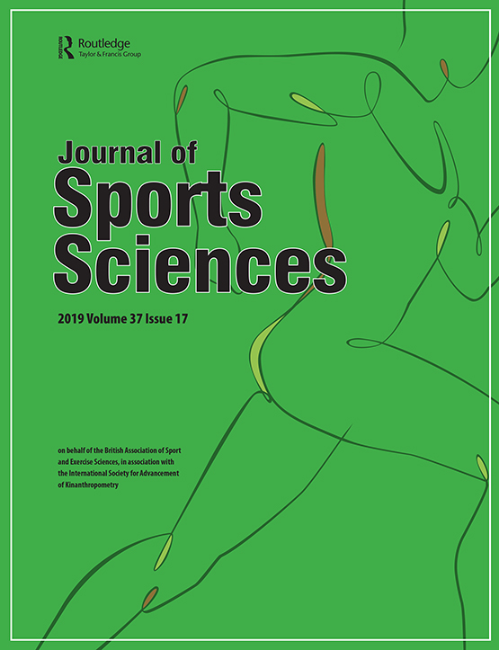 Journal Cover - Title in black lettering over an abstract line illustration of a person running against a green background.