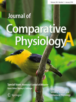 Journal Cover - Title in white and yellow lettering over an image of a black and yellow bird perched on a tree branch.
